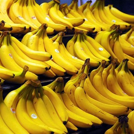 A banana contains more different genes than a human. (Photo by Steve Hopson / www.stevehopson.com)