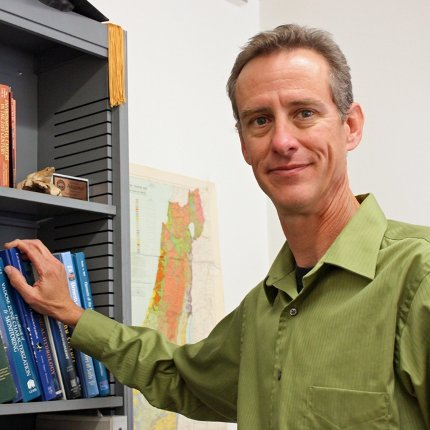 Thomas Wilson, lecturer in the Department of Soil, Water and Environmental Science,
